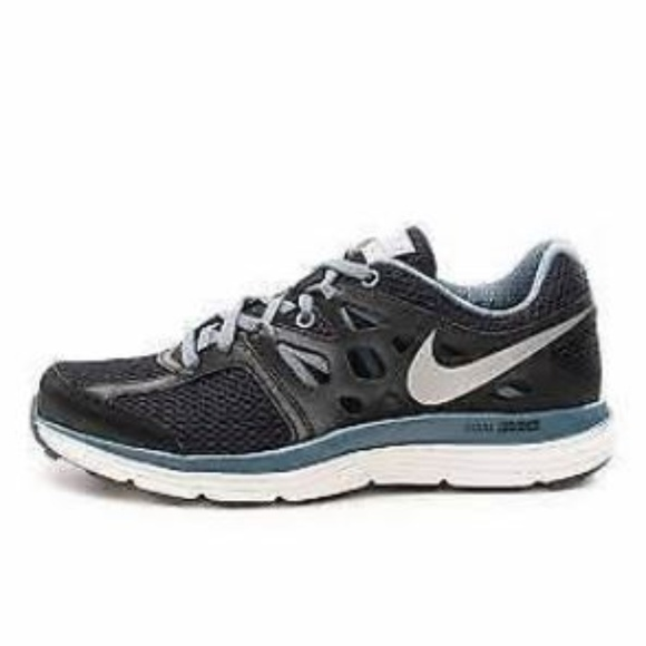 Nike Dual Fusion Lite Black Gray Running Shoes 8.5.  M 5b5b36e0bb7615862b94a22c 5f635cf21468